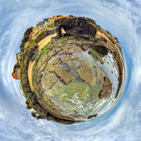 Loire Atlantique Couleur Little Planet 1:1